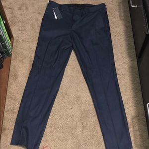 Men's Kenneth Cole navy dress pants